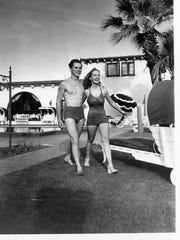 Jackie Cooper, Bonita Granville at El Mirador c. 1946.