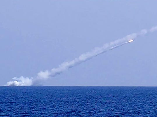 SYRIA-RUSSIA-CONFLICT-MISSILE