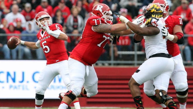 The Rutgers offensive line has to do more than just block in the new power spread offense.