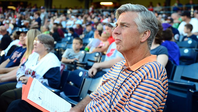 Dave Dombrowski was fired as the Tigers general manager two weeks ago.