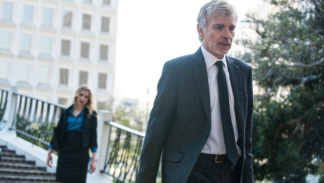 Billy Bob Thornton stars as a down-and-out lawyer in David E. Kelley's 'Goliath,' coming to Amazon Prime.