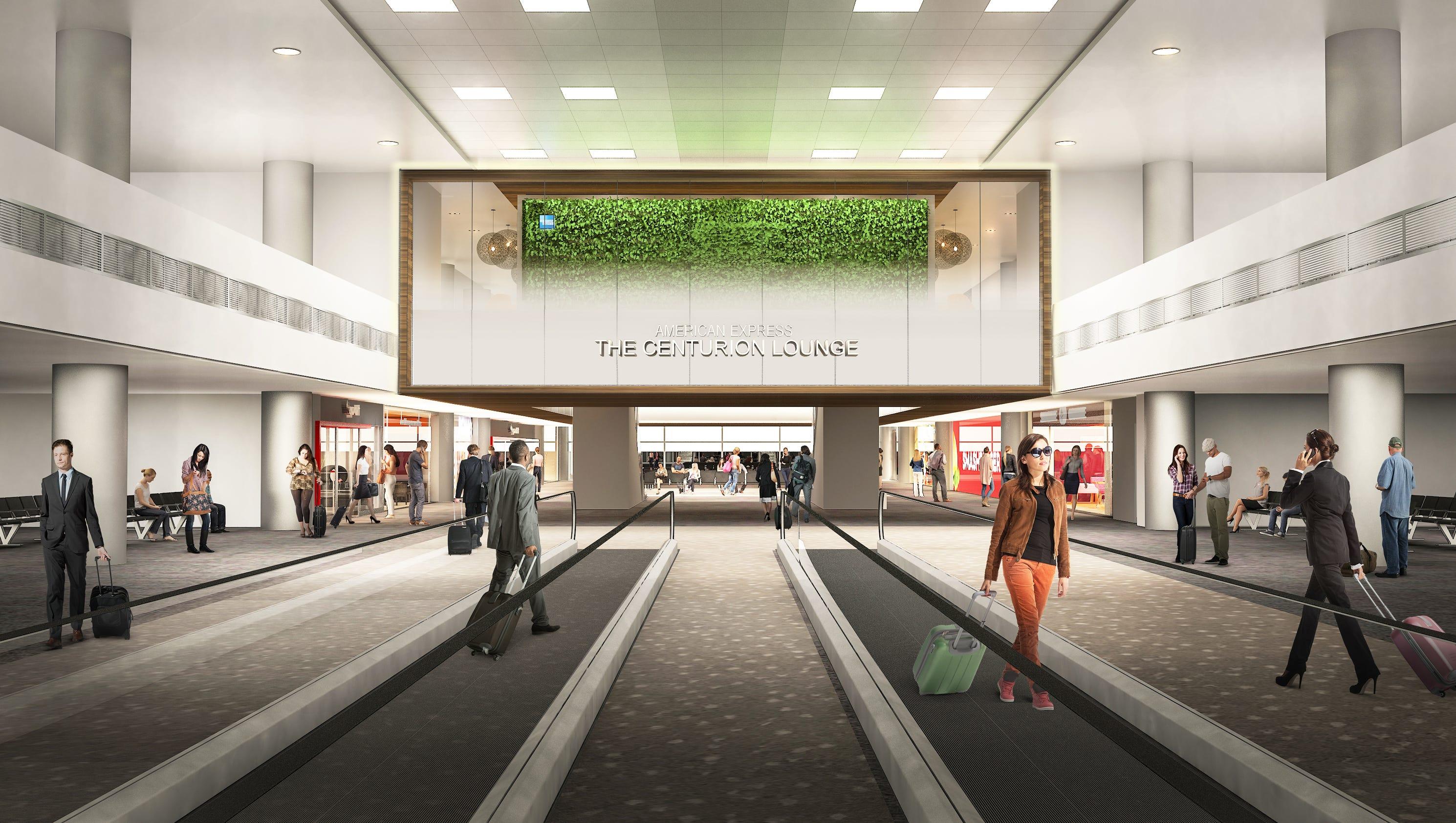 Amex Centurion Lounge Denver Airport Next To Get Posh Club