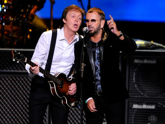 Paul Ringo And Cirques LOVE To Cap Beatles Tribute