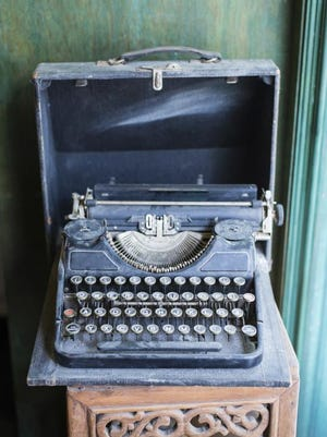 Vintage old  typewriter