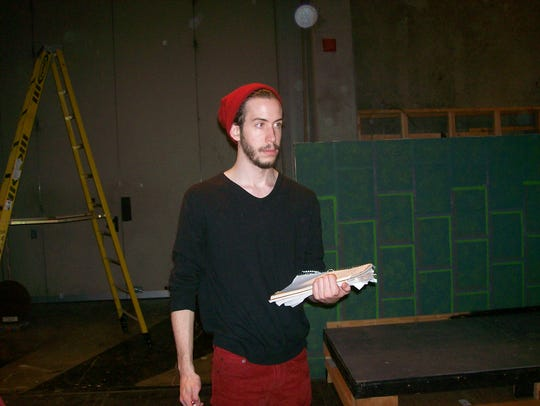 Isaiah Olson, the play's student director.