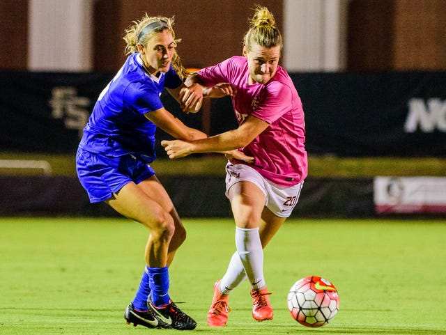 a45897b1a9e No. 9 Florida State soccer beats No. 4 Duke in overtime