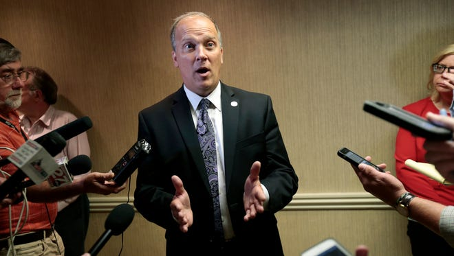 Wisconsin Attorney General Brad Schimel wants to keep training videos he made as a district attorney from the public. He wants to protect law enforcement techniques and prevent victims from being re-traumatized by the release of information about what they went through.