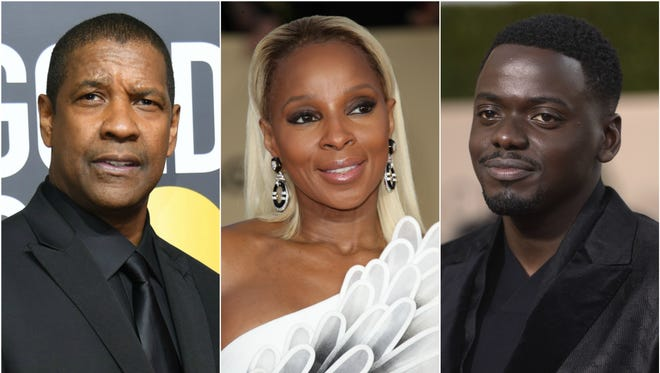 Denzel Washington, Mary J. Blige and Daniel Kaluuya each scored acting nominations this year.