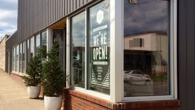 Oak Nashville, at 4200 Charlotte Ave., has a retail shop and furniture showroom, a woodworking space, an art gallery and an interior design service.