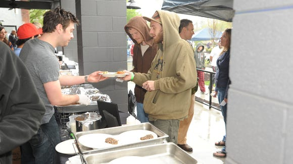 Last year's Savor the Westside was wet, but full of flavor.