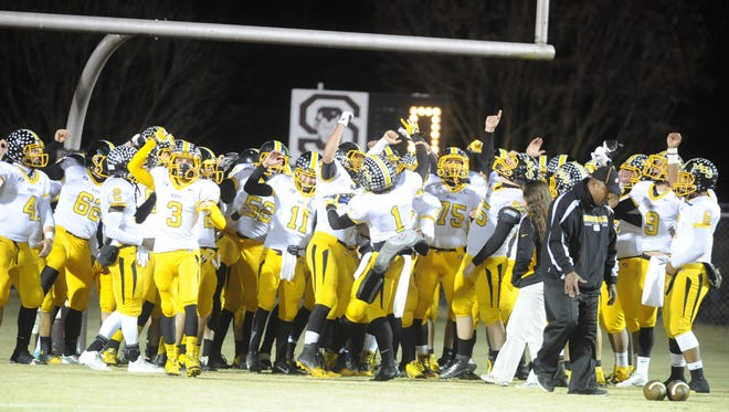 Murphy won the NCHSAA 1-A football championship in 2013.