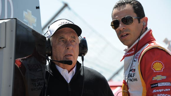 Roger Penske is in a strong position to win his first IndyCar title since 2006 with Helio Castroneves or Will Power.