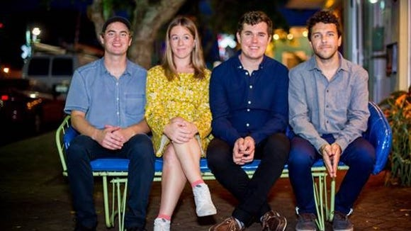 The Florida indie-rock band Surfer Blood will perform at Lowbrow Palace on Friday.