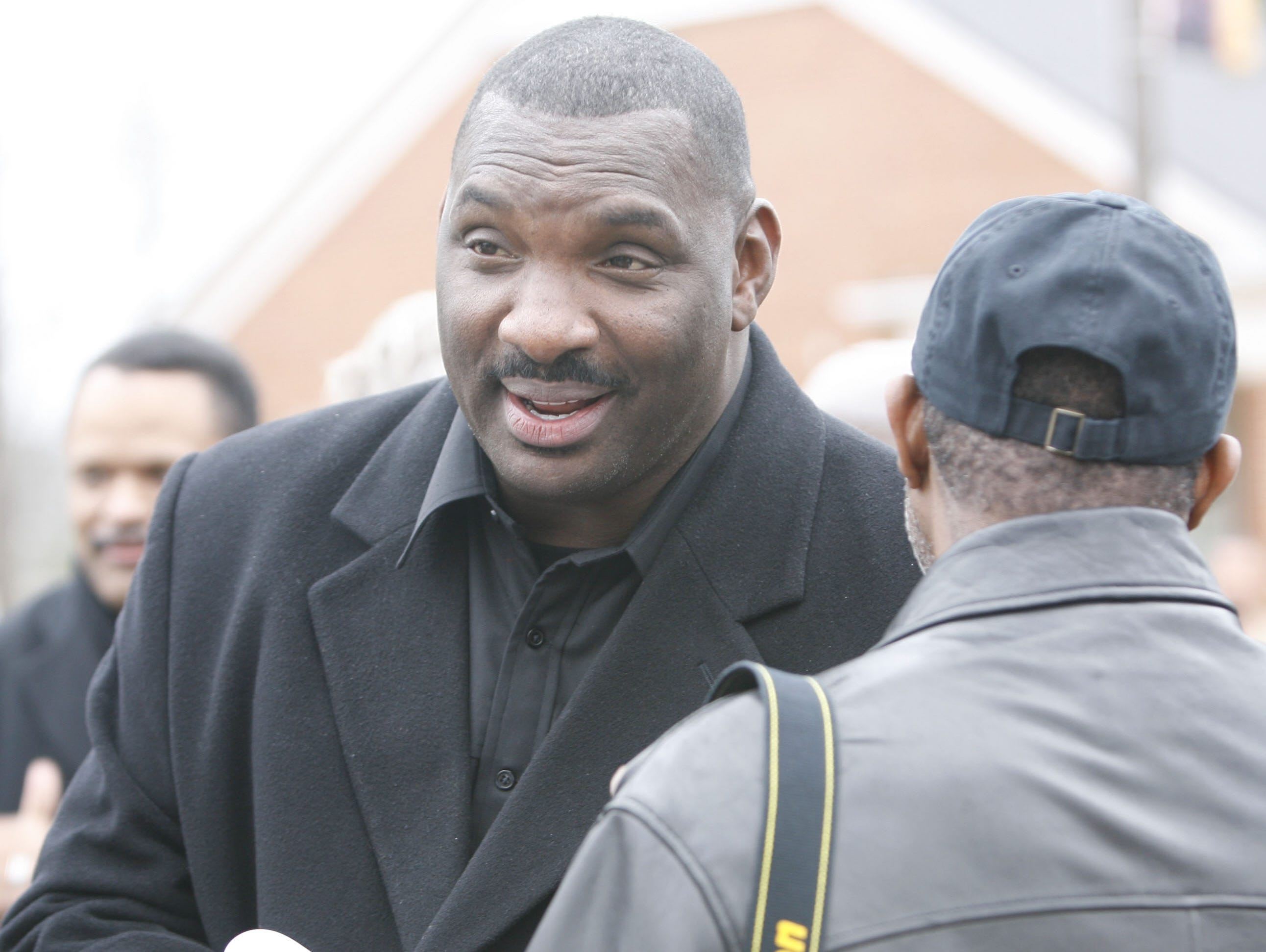 Former GSU football coach Doug Williams attends the ceremony. Louisiana dedicates the Eddie G. Robinson Museum at Grambling State University on Saturday, Feb. 13, 2010.