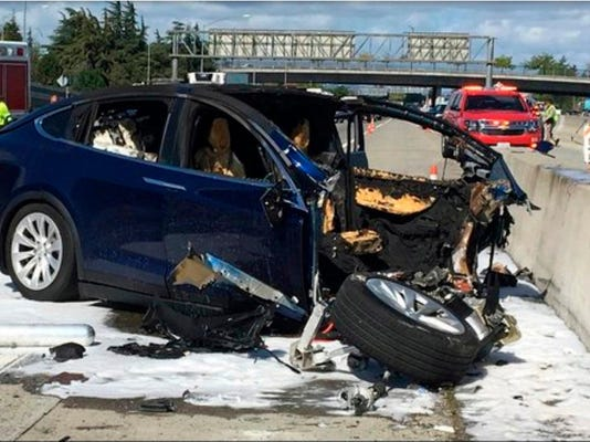 Tesla Crash Investigation