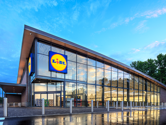 The German-based Lidl supermarket chain is expanding into the U.S. market.