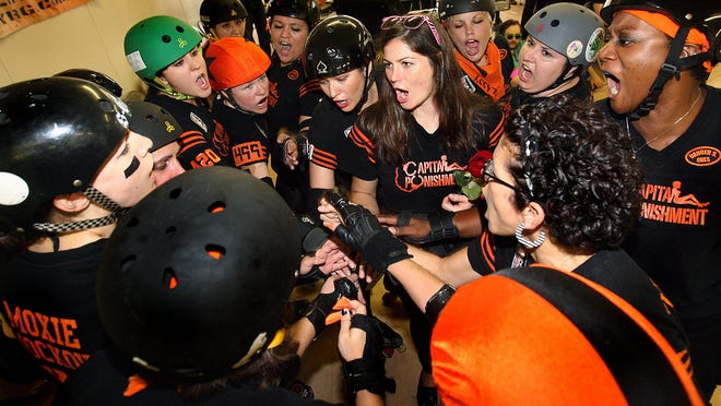 The Tallahassee RollerGirls take on the Pensacola Rollergurls at FAMU this weekend.