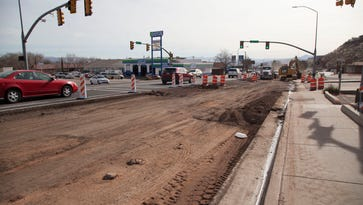 Bluff Street construction speeds ahead as businesses, motorists negotiate traffic