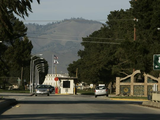 The entrance to the Correctional Training Facility in Soledad.