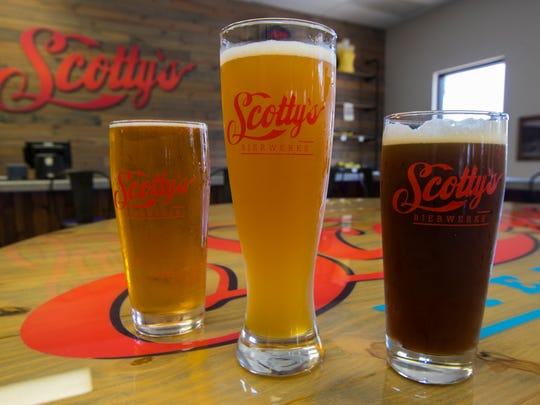 Scotty's Bierwerks is open for takeout of its cans and growlers.