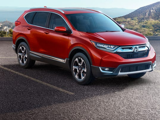 Hondas new CRV gets a higher price more features