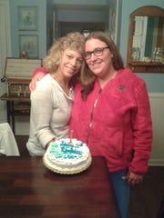 Kostadina Donnelly and her mother, Julie Economou,