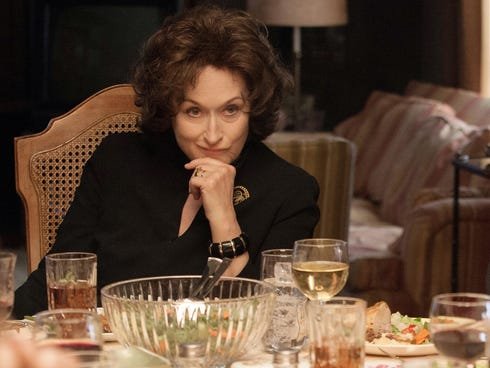 Meryl Streep overs a dark and powerful performance in 'August: Osage County.'