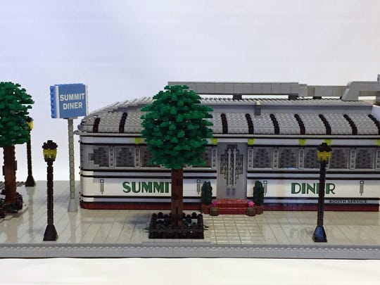 "Jonathan Lopes' ""Summit Diner"" is among the items on display in ""Icons of American Culture: The History of New Jersey Diners"" at the Morris Museum in Morristown."