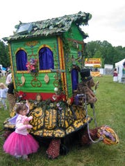 For the first time faeries and a traveling gypsy wagon