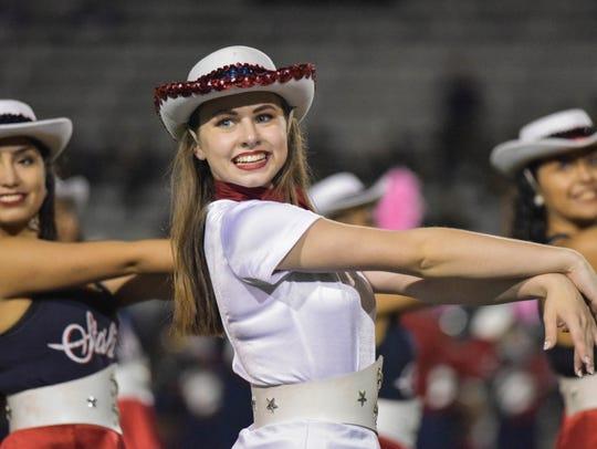 Members of the Veterans Memorial high school dance