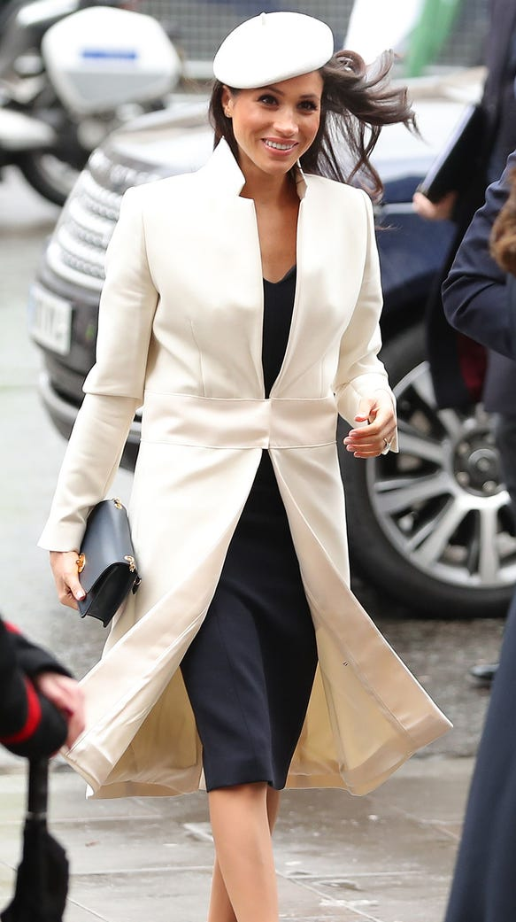 Meghan Markle, American fiancee of Prince Harry, at