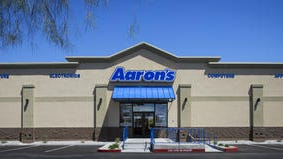 Furniture leasing company Aaron'??s has agreed to buy online rent-to-own finance company Progressive Finance Holdings for $700 million in cash in a bid to turn around its business even as it cut its first-quarter outlook.