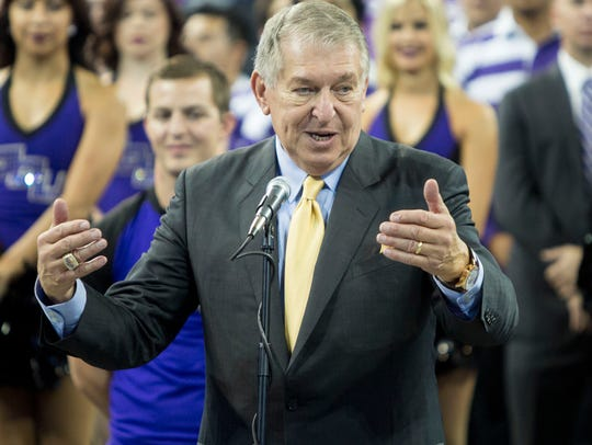 Jerry Colangelo takes the stand to help introduce the