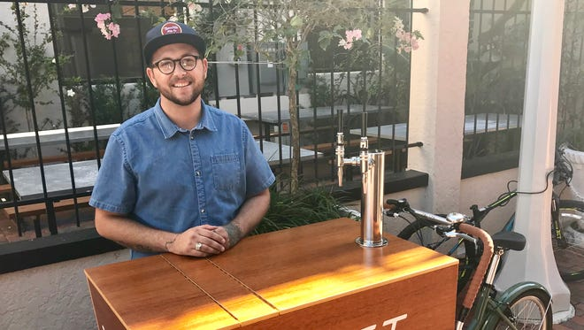 Donie Schepp launched the Shift Coffee Bar trike in October.