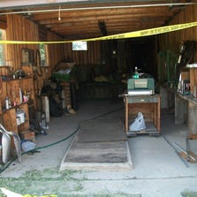 Entry to garage.  Crawl space is entered through a wall on the right side.  This is beneath the house itself.
