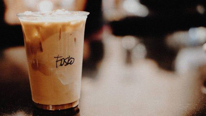 A Foskolina at Fosko Coffee Barre.