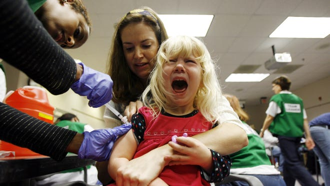 Each year, approximately 42,000 adults and 300 children in the United States die from vaccine-preventable diseases, according to a report by the U.S. Department of Health and Human Services.