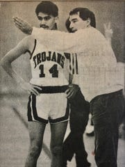 Alisal's tradition of excellent basketball teams stretches back to the early 1970s. More recently, Jim Rear (right) coached the Trojans to eight league titles from 1983-1997 and multiple playoff championship appearances.