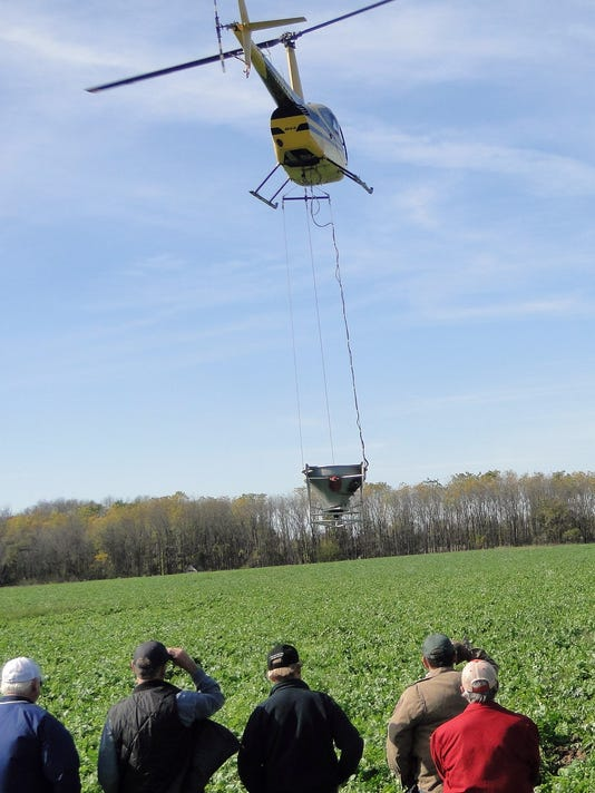 WSF 1103 Gloria cover crops copter