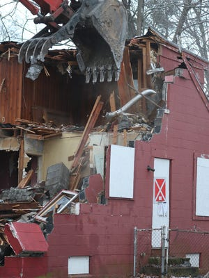 In 2015, Irondequoit Town Board created town codes to deal with blighted and abandoned property. On Tuesday, February 9, 2016, Irondequoit demolished 159 Montcalm Drive.
