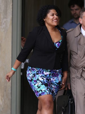 Rochester City Court Judge Leticia Astacio pleaded not guilty to driving while intoxicated in City Court.