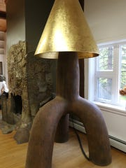 Wendell Castle designed this standing lamp in 2008.