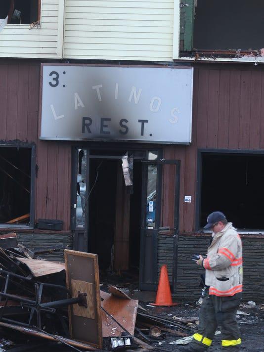arson 3 Latinos restaurant
