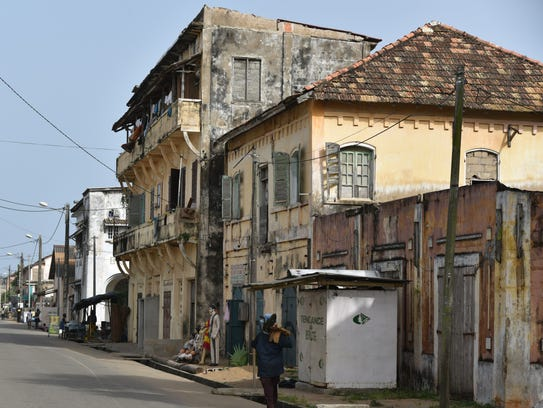 Grand-Bassam was the French colonial capital for a