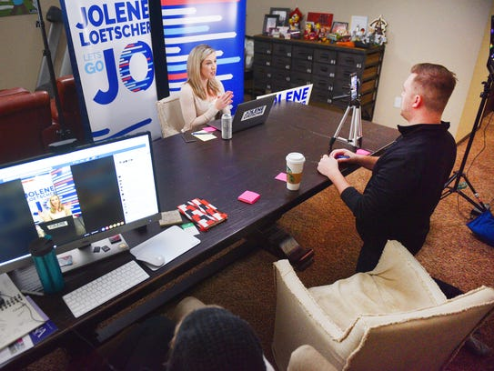 Sioux Falls Mayoral candidate Jolene Loetscher hosts