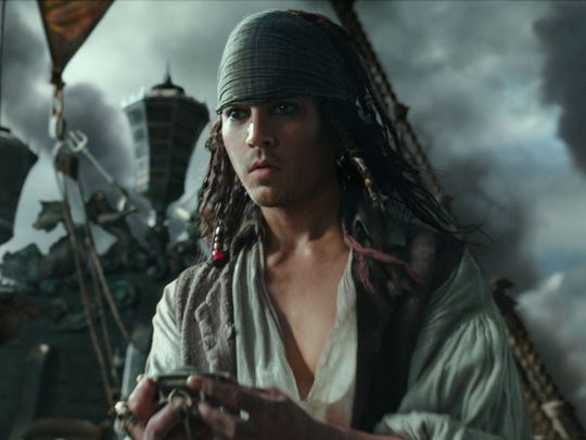 Johnny Depp goes back in time as young Jack Sparrow
