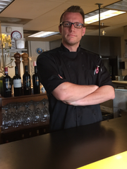 Chef Sam Wood leads the kitchen at Cafe YOU in Cape Coral.