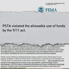 In a scathing 5-page letter sent to PSTA, Department of Homeland Security Executive Director Brad Miller says, in essence, the agency lied about how it would use the Homeland Security Grant for a series of video ads.