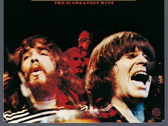The cover to Creedence Clearwater Revival's 1976 compilation,