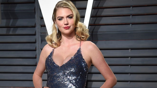 Kate Upton at the Vanity Fair Oscar Party in Beverly Hills in February 2017.